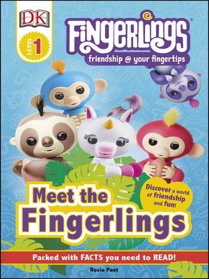 cover image of Fingerlings: Meet the Fingerlings