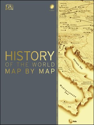 cover image of Smithsonian - History of the World Map by Map