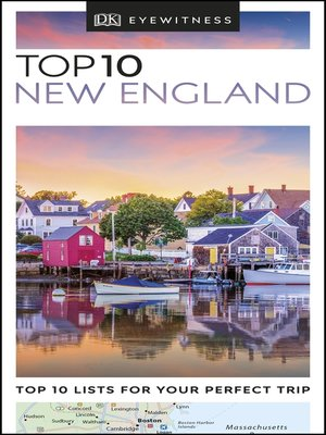 cover image of DK Eyewitness Top 10 New England