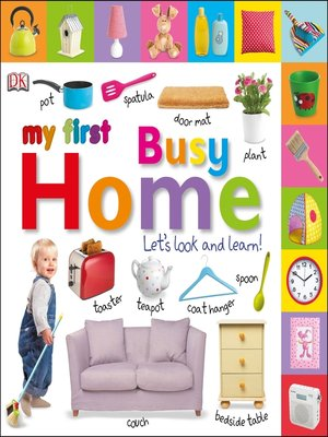cover image of Tabbed Board Books: My First Busy Home