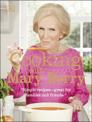 cover image of Cooking with Mary Berry