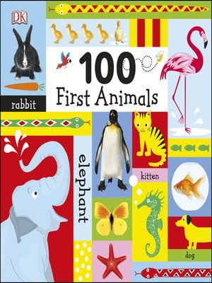 cover image of 100 First Animals