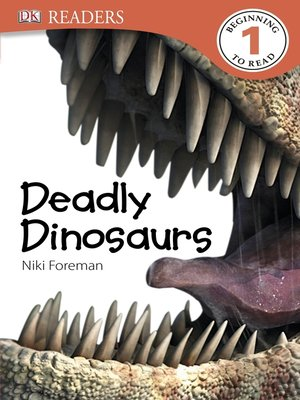 cover image of Deadly Dinosaurs