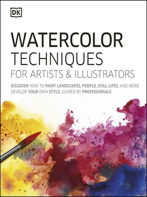 cover image of Watercolor Techniques For Artists and Illustrators