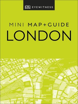 cover image of DK Eyewitness London Mini Map and Guide