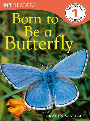 cover image of Born to Be a Butterfly