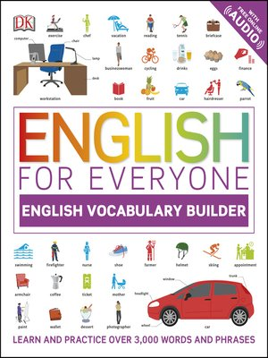 cover image of English Vocabulary Builder