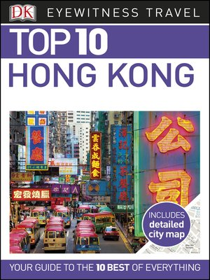 cover image of DK Eyewitness Top 10 Hong Kong