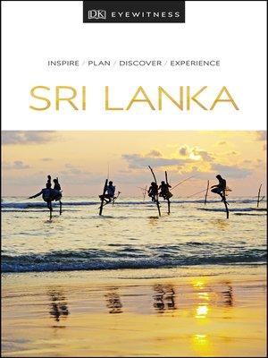 cover image of DK Eyewitness Sri Lanka
