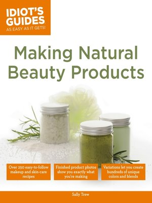 cover image of Making Natural Beauty Products