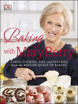 cover image of Baking with Mary Berry