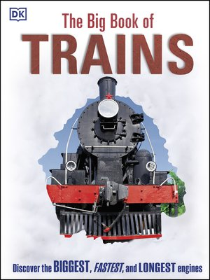 cover image of The Big Book of Trains