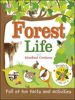 cover image of Forest Life and Woodland Creatures