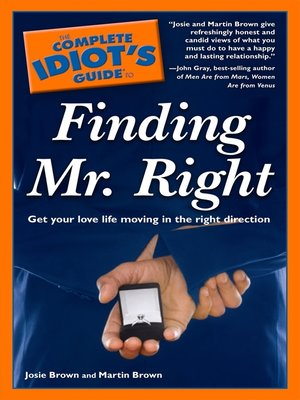 cover image of The Complete Idiot's Guide to Finding Mr. Right