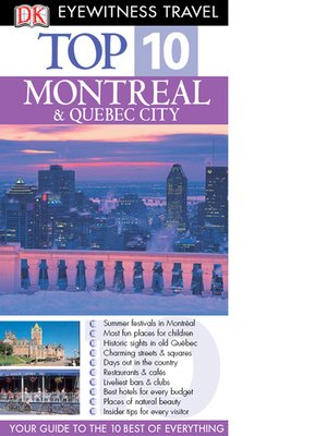 cover image of Montreal & Quebec City