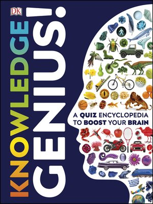 cover image of Knowledge Genius