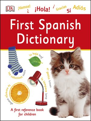 cover image of First Spanish Dictionary