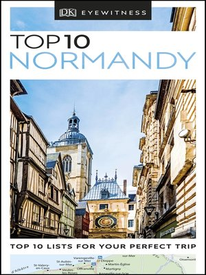 cover image of DK Eyewitness Top 10 Normandy