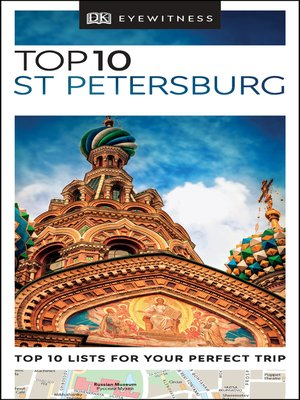 cover image of DK Eyewitness Top 10 St Petersburg