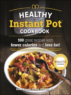 cover image of The Healthy Instant Pot Cookbook
