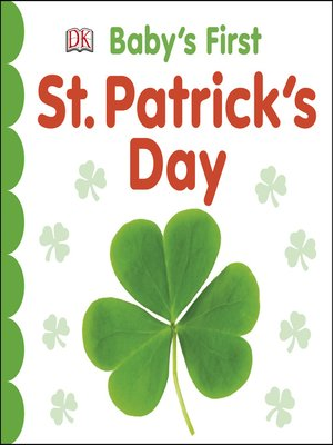 cover image of Baby's First St Patrick's Day