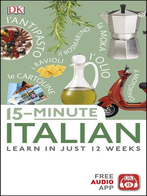 cover image of 15-Minute Italian