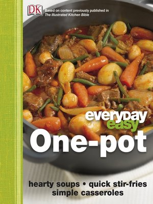 cover image of Everyday Easy One Pot