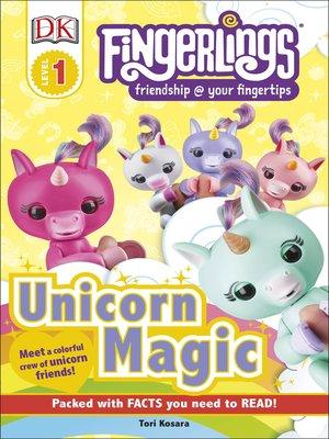 cover image of Fingerlings Unicorn Magic