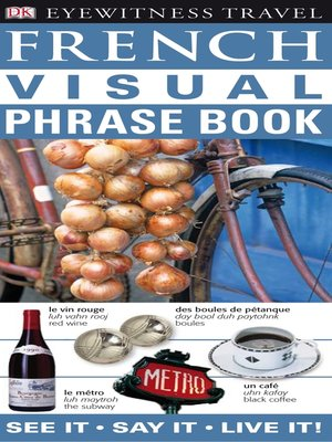 cover image of French Visual Phrase Book
