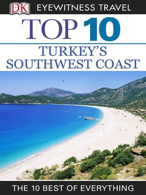 cover image of Turkey's Southwest Coast