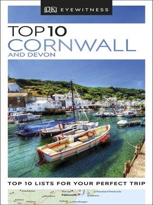 dk eyewitness top 10 travel guide devon & cornwall