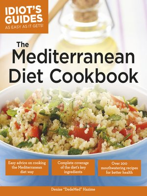 cover image of The Mediterranean Diet Cookbook