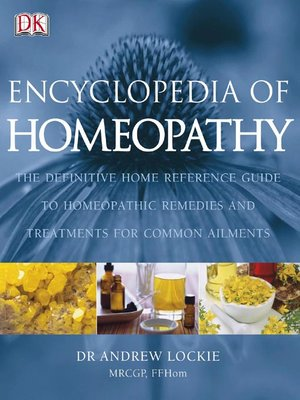 cover image of Encyclopedia of Homeopathy