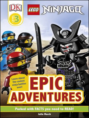 cover image of LEGO NINJAGO Epic Adventures