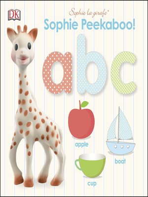 cover image of Sophie la girafe