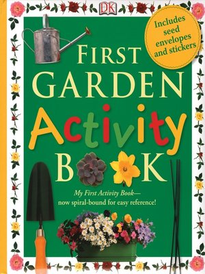 cover image of First Garden Activity Book