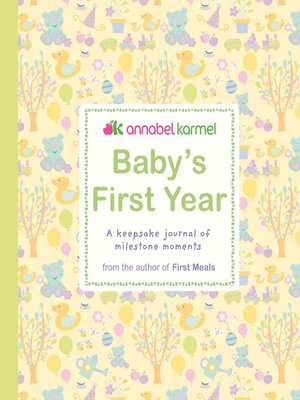 cover image of Baby's First Year