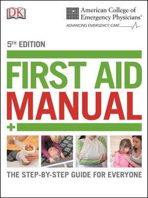 cover image of ACEP First Aid Manual