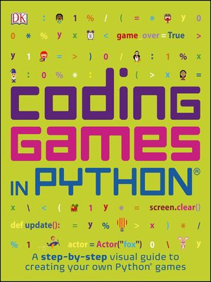 cover image of Coding Games in Python