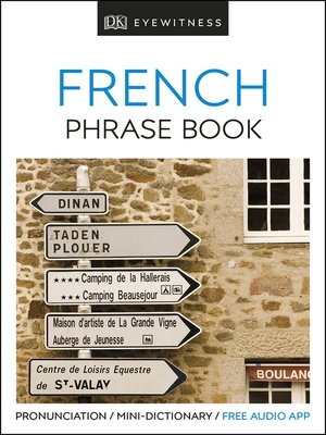 cover image of Eyewitness Travel Phrase Book French