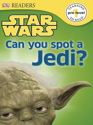 cover image of Star Wars: Can You Spot a Jedi?