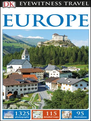 cover image of DK Eyewitness Travel Guide Europe