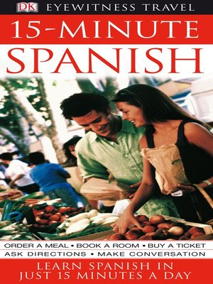 cover image of 15-minute Spanish
