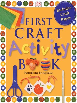 cover image of First Craft Activity Book