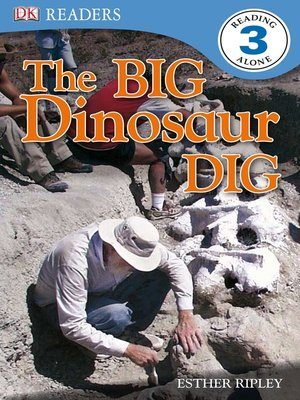 cover image of The Big Dinosaur Dig