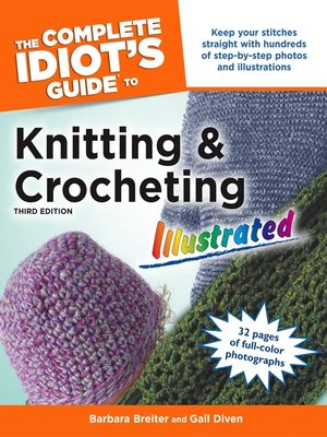 The complete idiots guide to chess by patrick wolff overdrive cover image of the complete idiots guide to knitting and crocheting fandeluxe Images