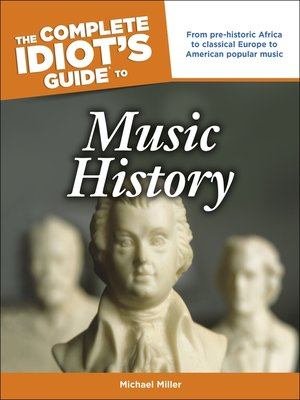cover image of The Complete Idiot's Guide to Music History
