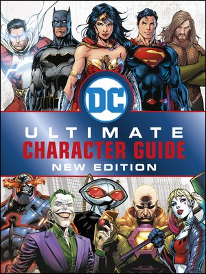 cover image of DC Comics Ultimate Character Guide
