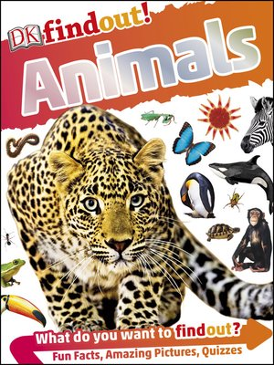 cover image of DKfindout! Animals