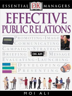 cover image of Effective Public Relations